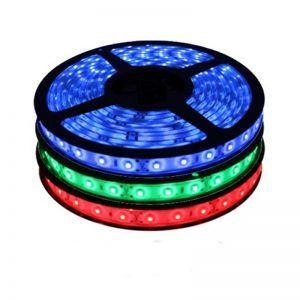 ROLLO CINTAS LED 30XM 50M 5050 IP68 RGB 110V
