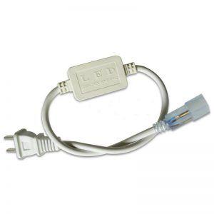 CONECTOR PARA CINTAS LED DE UN SOLO COLOR 110V