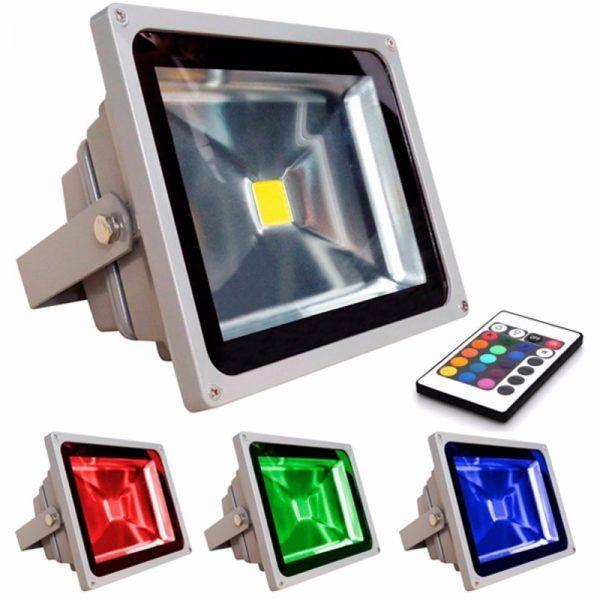 REFLECTOR LED 50W RGB