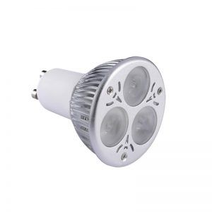 BOMBILLA LED DICROICA DIMEABLE 3X1 W /MR16/GU10/ CW-WW