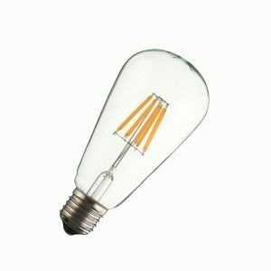 Bombillo LED Vintage amarillo 6W E27